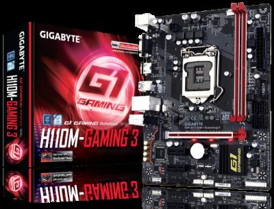 Mainboard GIGABYTE H110M - Gaming 3