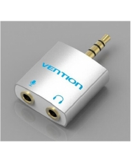 Đầu chuyển đổi Vention Audio 4 pole 3.5mm male to 2*3.5mm female