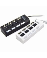 Hub USB 4P Hình ổ điện có công tắc