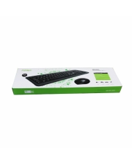 Bộ bàn phím chuột không dây Fuhlen MK880-Black